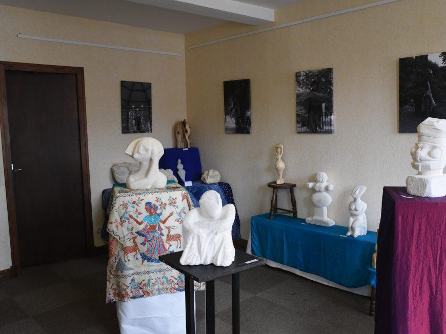 Exhibition gallery Anick Auclair à EGUZON-CHANTOME © Tourisme au Pays d'Eguzon Val de Creuse