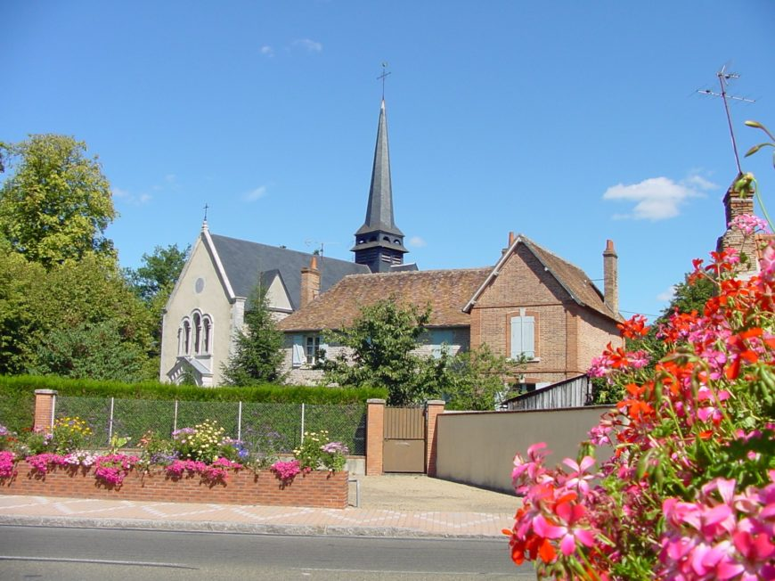 Eglise Saint-Michel à LA FERTE-SAINT-AUBIN ©