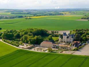 Château and gardens of Le Rivau à LEMERE - 7  © Edmund Low