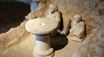 Musée d'Argentomagus – Autel domestique