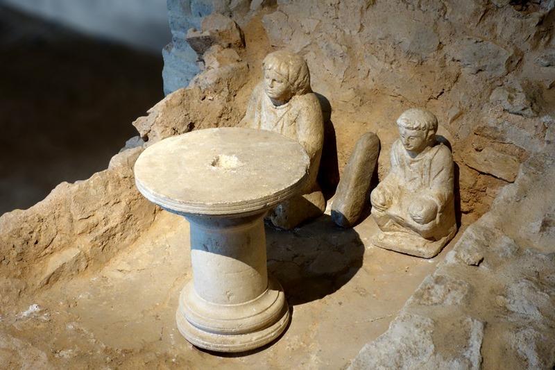 Museum and archaeological site of Argentomagus, roman garden à SAINT-MARCEL ©  Musée d'Argentomagus