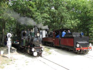 The steam train of Rillé à RILLE - 7  ©  Historic Train of Rillé