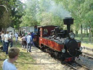 The steam train of Rillé à RILLE - 5  ©  Historic Train of Rillé