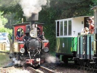 The steam train of Rillé à RILLE - 6  ©  Historic Train of Rillé