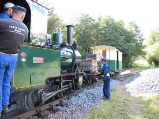 The steam train of Rillé à RILLE - 8  ©  Historic Train of Rillé