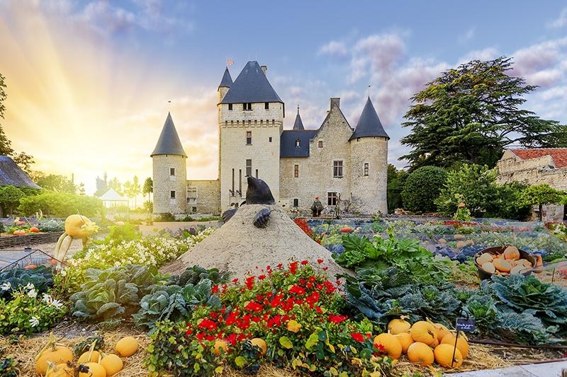 Château and gardens of Le Rivau à LEMERE © G. Bertholon