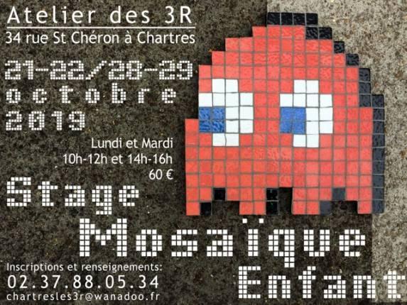 Stage de mosaïque enfants à Chartres à CHARTRES ©