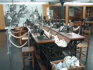 Shirt-making and male elegance museum and its textile garden à ARGENTON-SUR-CREUSE - 4  ©  Musée de la Chemiserie