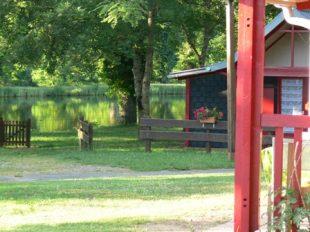 Aire de stationnement pour camping-cars – Domaine du Ciran Ménestreau en Villette à MENESTREAU-EN-VILLETTE - 2  ©