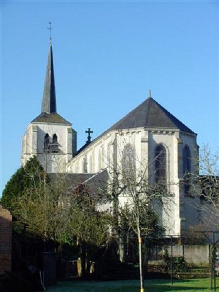 Eglise Saint-Etienne à MARCILLY-EN-VILLETTE ©