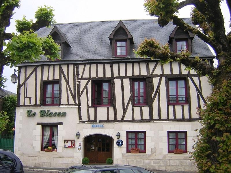 Hôtel Le Blason à AMBOISE © hôtel le blason