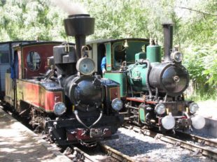 The steam train of Rillé à RILLE - 9  ©