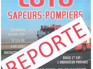 LOTO des Sapeurs-Pompiers 15 mars reporté au 18 octobre 2020 à LA FERTE-SAINT-AUBIN - 2  ©