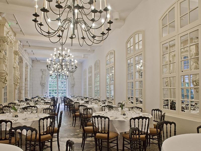 Restaurant l'Orangerie à CHENONCEAUX © Marc Jauneaud