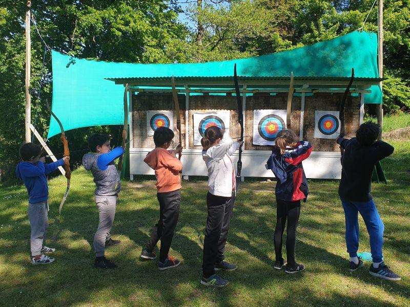 Archery at the Eguzon outdoor base à EGUZON-CHANTOME © BPA Eguzon