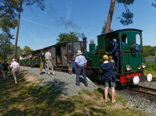 The steam train of Rillé à RILLE - 3  ©