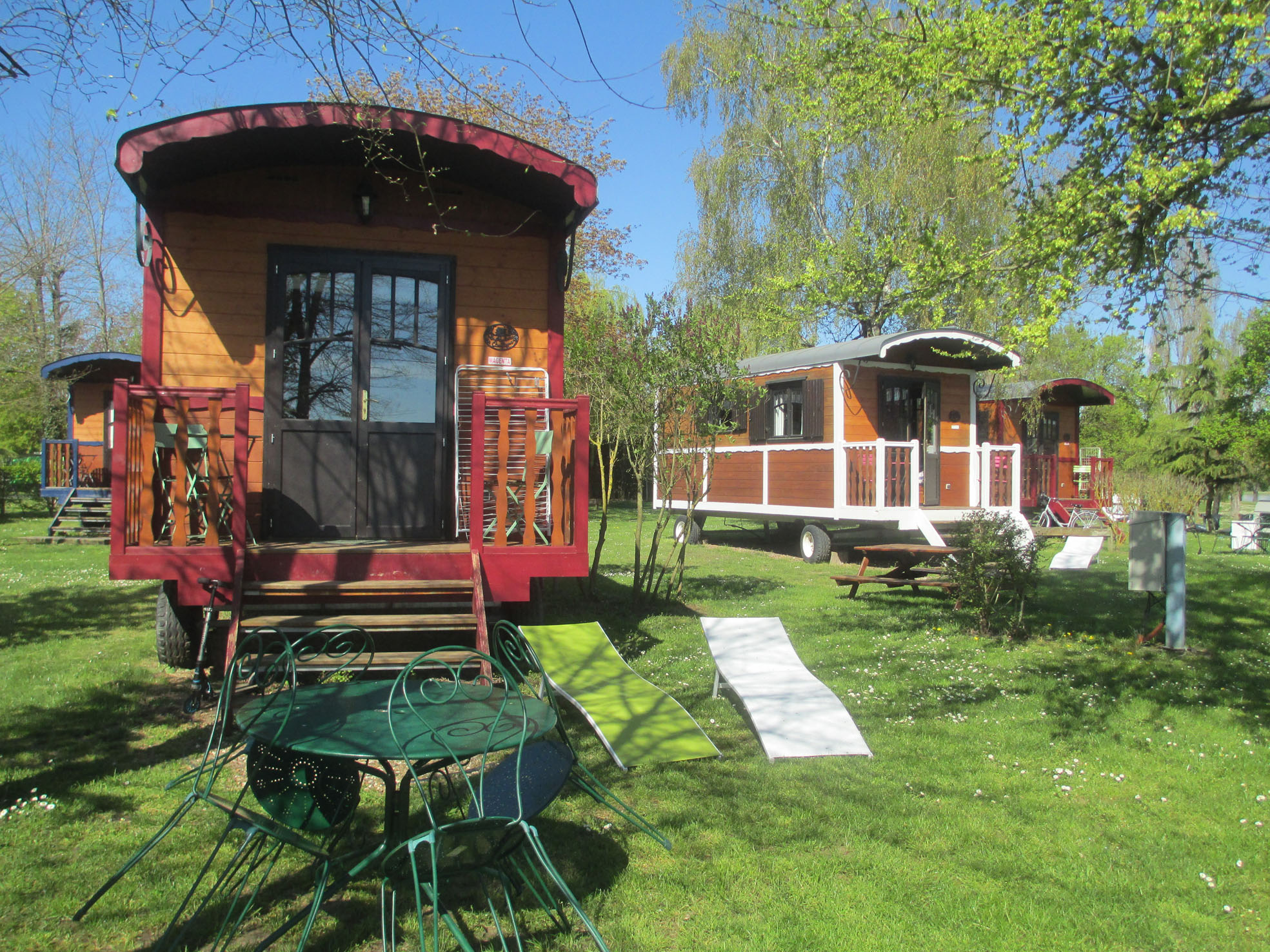 Camping Touristique de Gien à POILLY-LEZ-GIEN - 2  ©