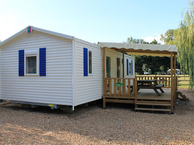 Camping Les Acacias à LA VILLE-AUX-DAMES - 4  ©