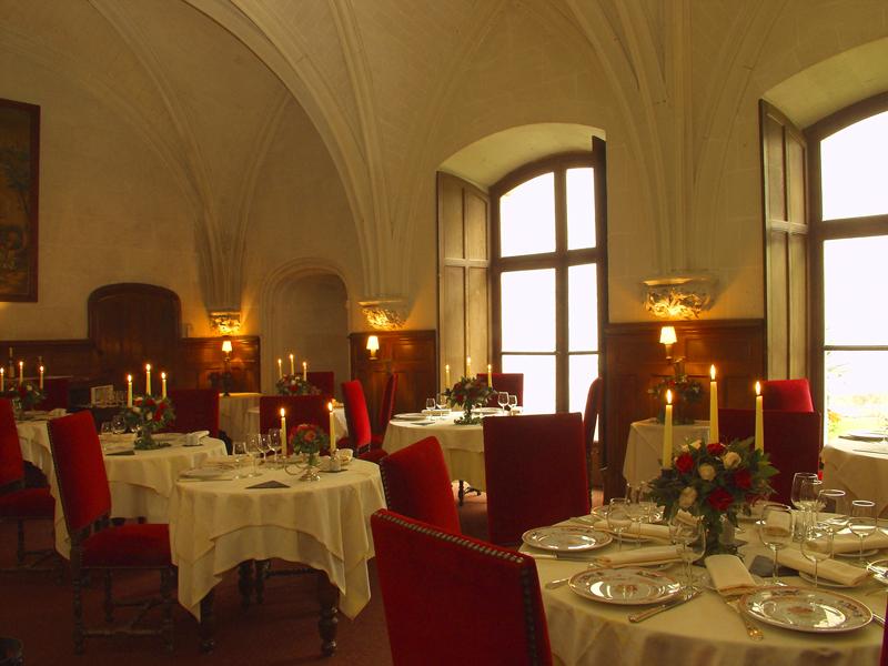 La Table du Roy à CHISSAY-EN-TOURAINE © chateau-de-chissay