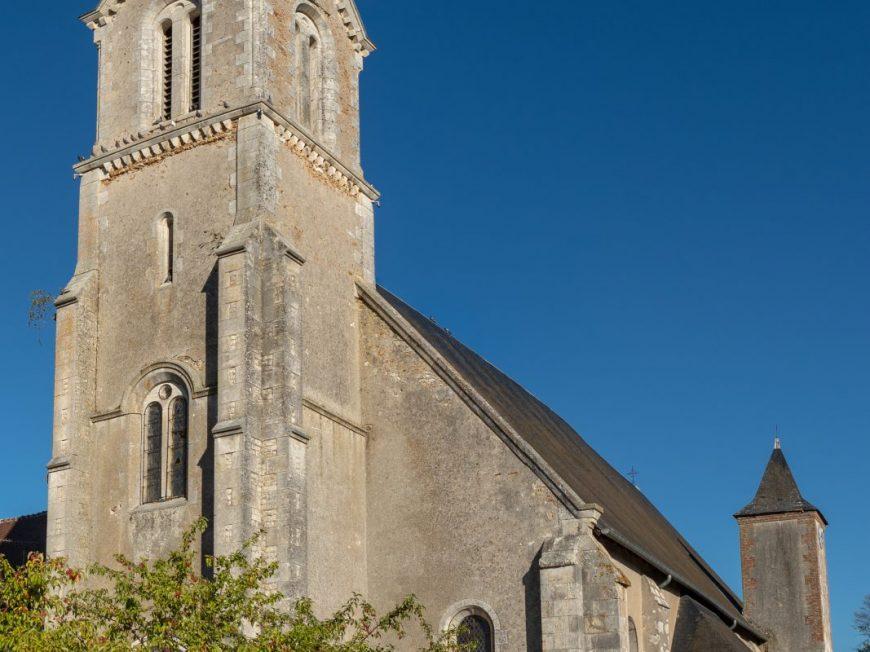 Eglise Saint-Gondon à SAINT-GONDON © otgien