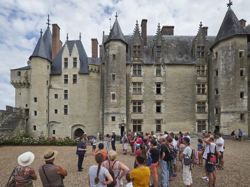 Présentations historiques au château de Langeais à LANGEAIS © J.B.Rabouan