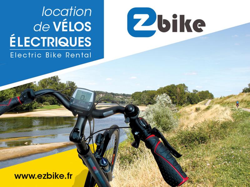 EZBIKE Location de vélos électriques à SAINT-AVERTIN © ezbike