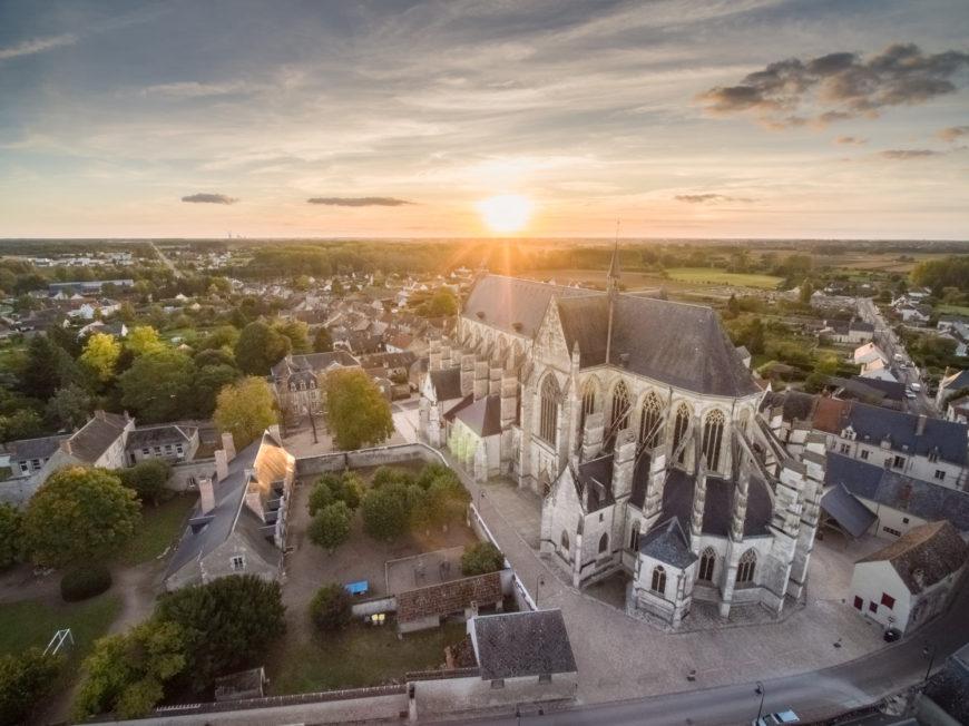 Basilique Notre-Dame de Cléry à CLERY-SAINT-ANDRE ©  V. Bauza - Office de Tourisme des Terres du Val de Loire