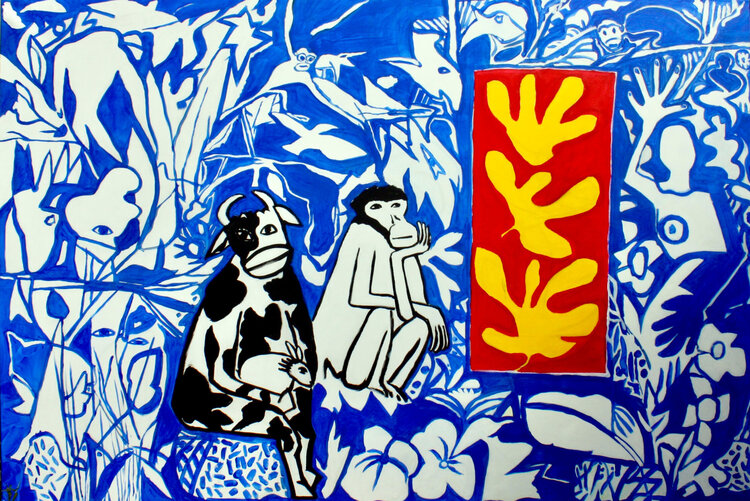 Françoise Collin artiste peintre à BAULE © Françoise Collin