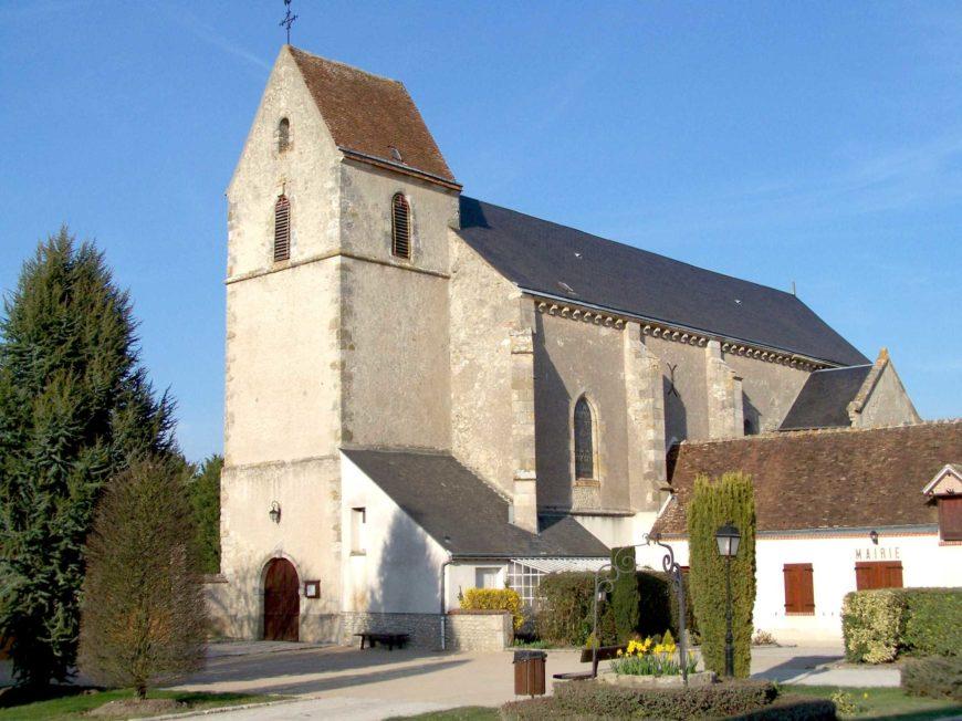 Eglise Notre-Dame à VRIGNY © CSP