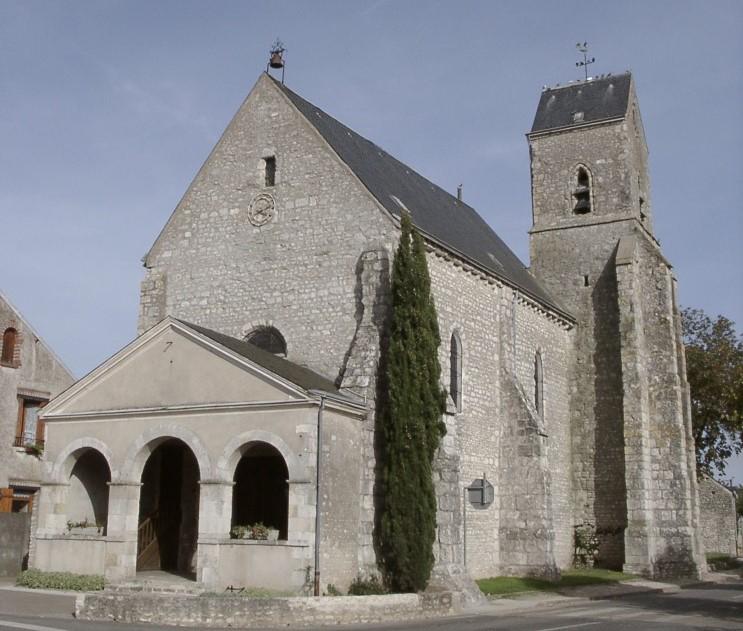 Eglise Saint-Laurent à OUTARVILLE © ADRT