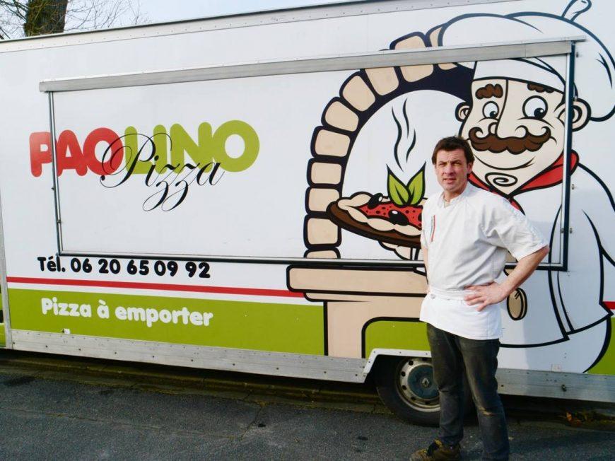 Paolino Pizza à HUISSEAU-SUR-MAUVES ©  Paolino Pizza