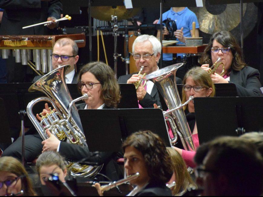 Concert : La rencontre des Harmonies à TOURY © cccb