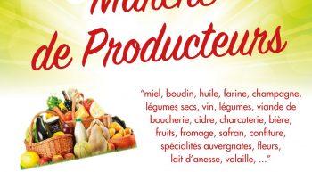 18 Avril Marché des producteurs Villemandeur