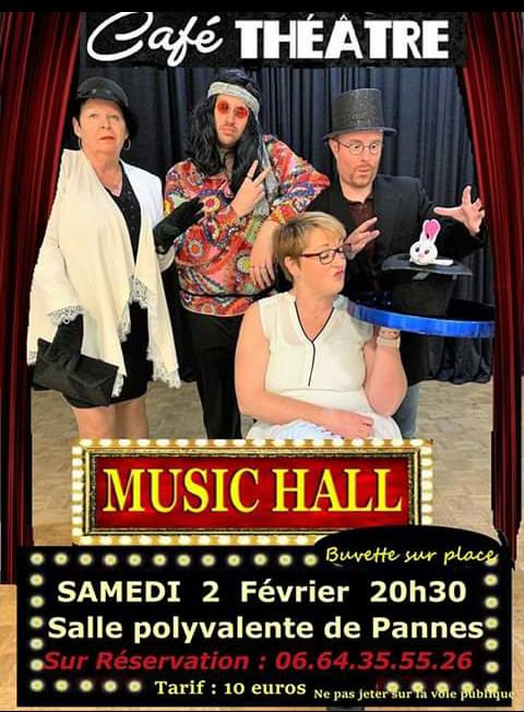 Café théâtre à PANNES - 1