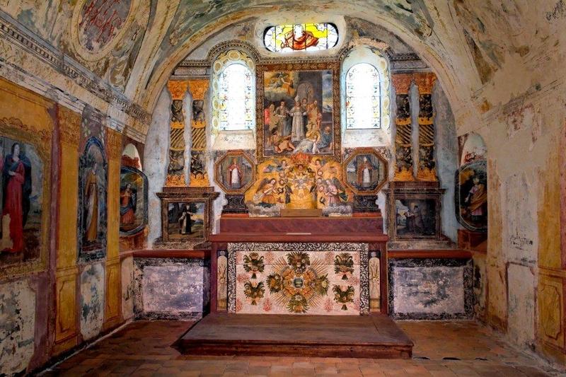 Chapelle Saint-Hubert à COURCELLES-LE-ROI © Pierre Avisse