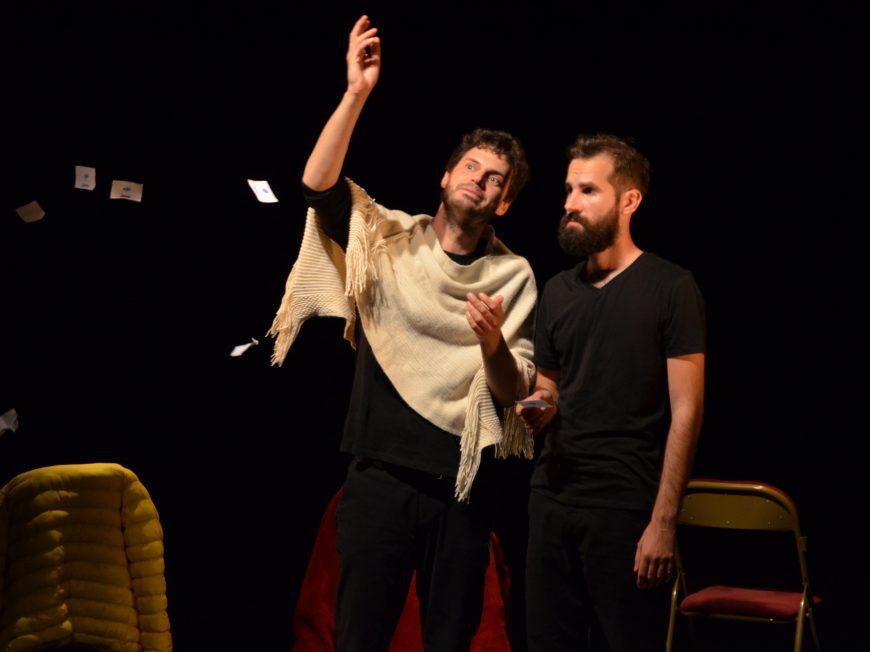 Théâtre : Dis Horatio Par la Cie 21, d'après Hamlet de Shakespeare à GOMMERVILLE © cccb