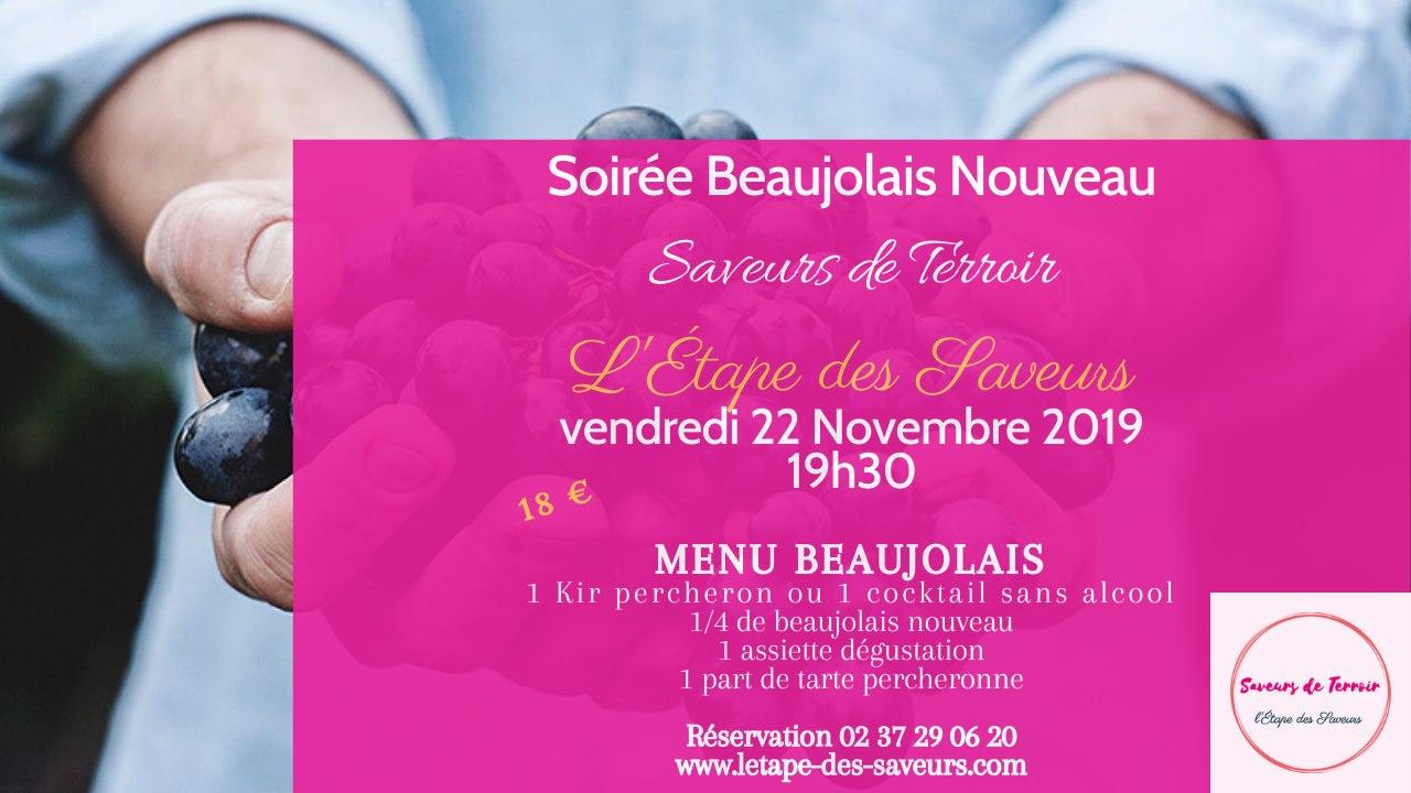 Soirée beaujolais nouveau à FRAZE © Etapedessaveurs