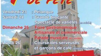 23-26 Juillet 4 Jours de Fête Villemandeur