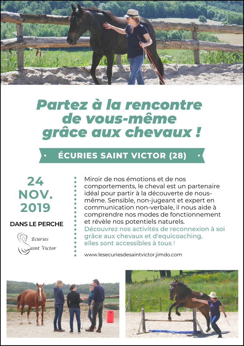 Se reconnecter à soi grâce aux chevaux à SAINT-VICTOR-DE-BUTHON - 2  © ecuries-st-victor