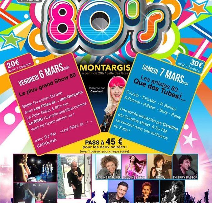 Festival 80's à MONTARGIS © lafosseauxlions