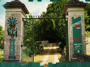 Street Art Parc du château de Môh à CANDES-SAINT-MARTIN - 4  © Alex Vagnini