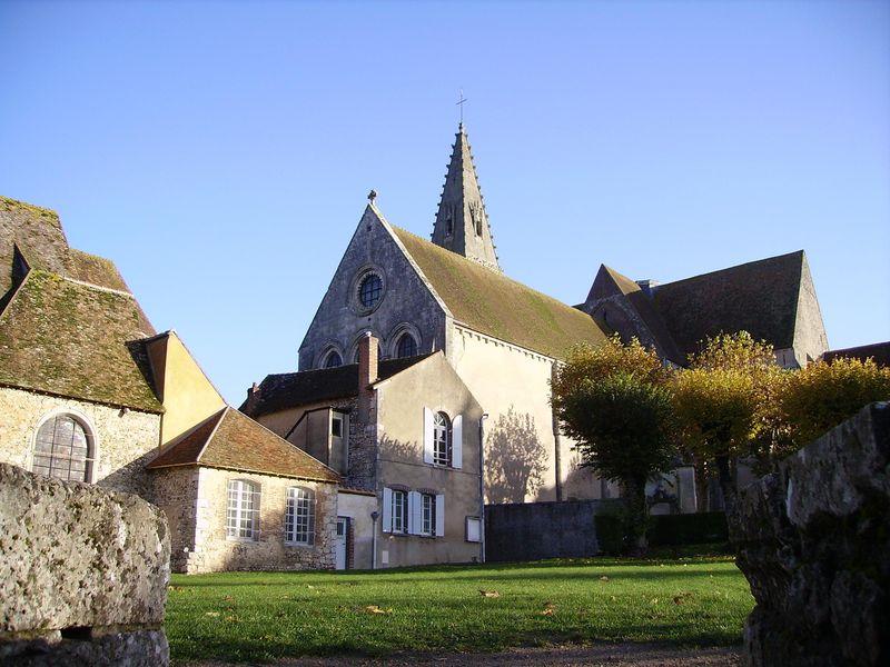 Ancienne Abbaye Bénédictine Royale à FERRIERES-EN-GATINAIS ©  Mairie de Ferrières-en-Gâtinais