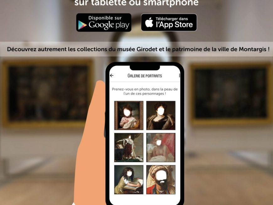 Application numérique du Musée Girodet à MONTARGIS © Musee_Girodet