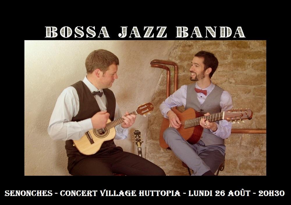 Concert – Bossa Jazz Banda à SENONCHES © village huttopia