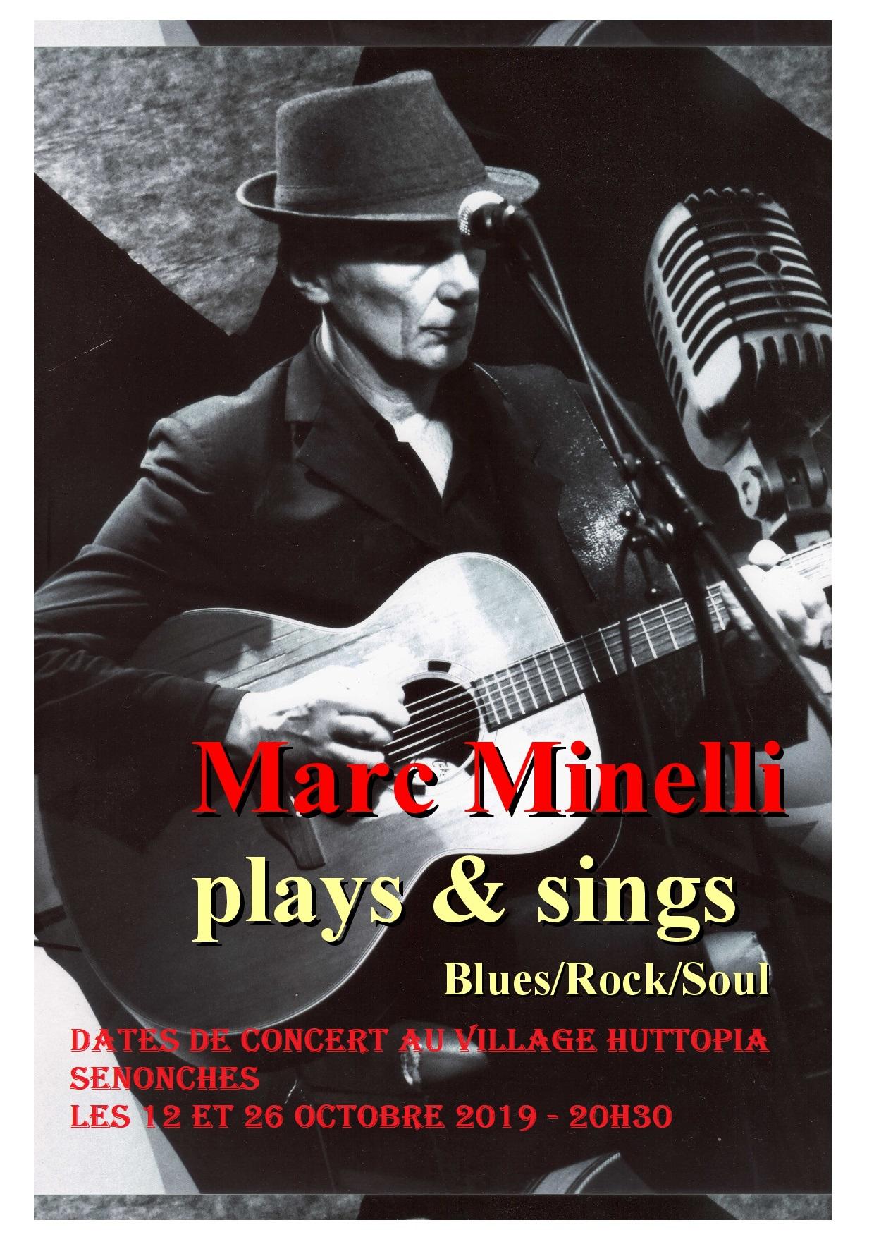 Concert avec Marc Minelli à SENONCHES © huttopia senonches