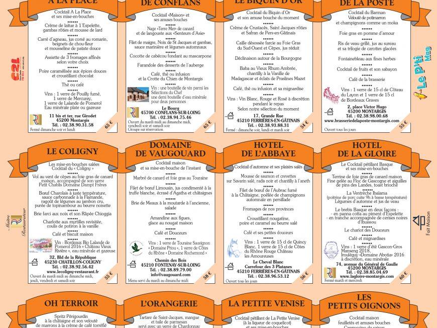 32ème Mois de la Gastronomie à MONTARGIS © OT AME