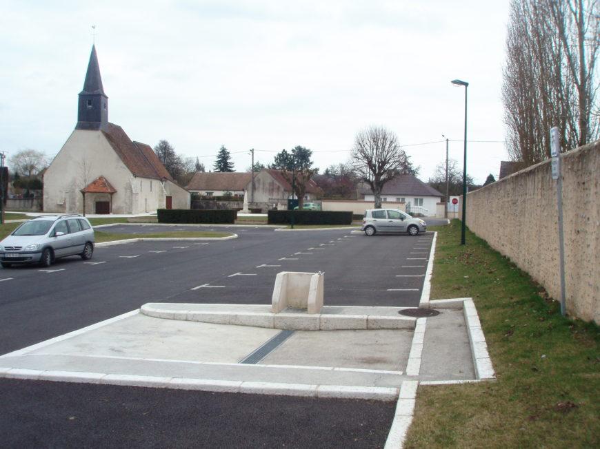 Aire de service pour Camping-car de Paucourt à PAUCOURT - 1