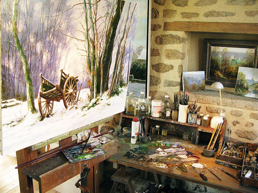 Atelier La Magine à CROZANT © Jean Marie Laberthonnière