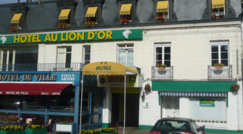 Au Lion d'Or façade