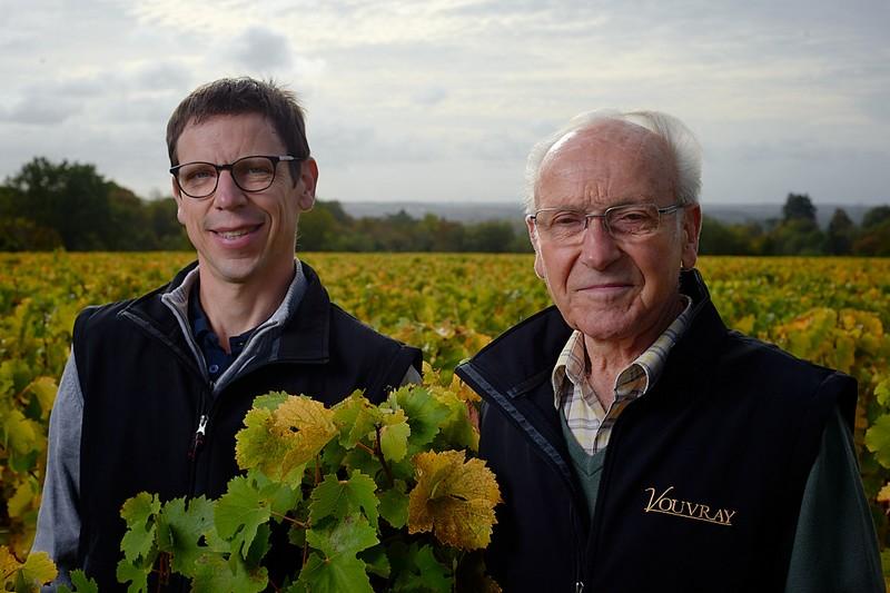 Aubert Jean-Claude et Didier à VOUVRAY © Domaine_Aubert